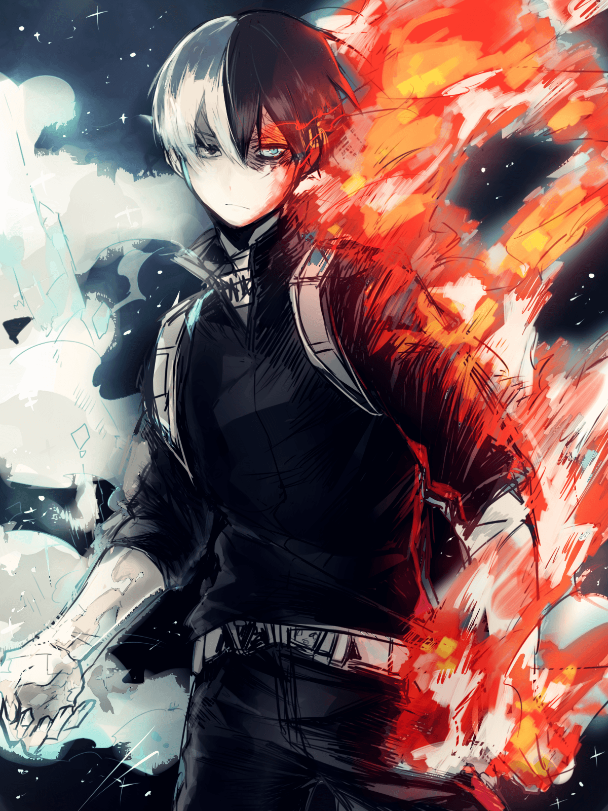 Todoroki Bnha Wallpapers On Wallpaperdog
