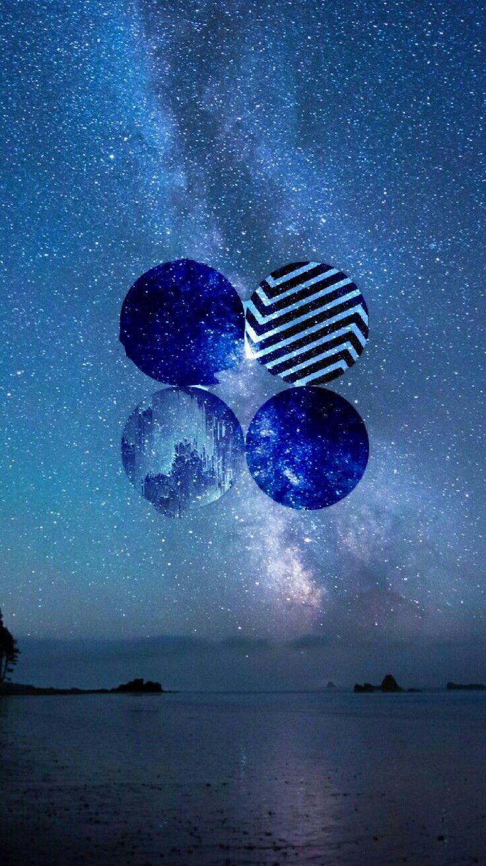 Blue Aesthetic Bts Desktop Wallpapers On Wallpaperdog