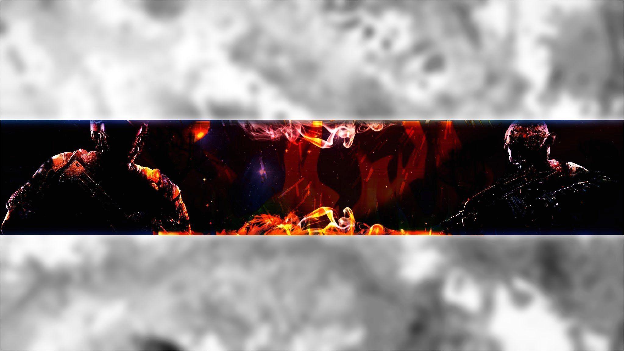 Youtube Gaming Banners Afis Sablon Logo Tasarimi