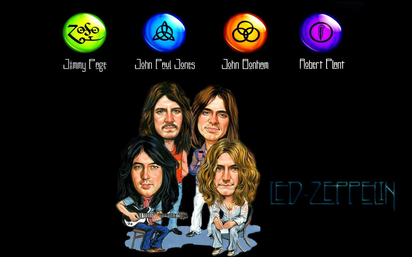 Led Zeppelin Wallpapers On Wallpaperdog