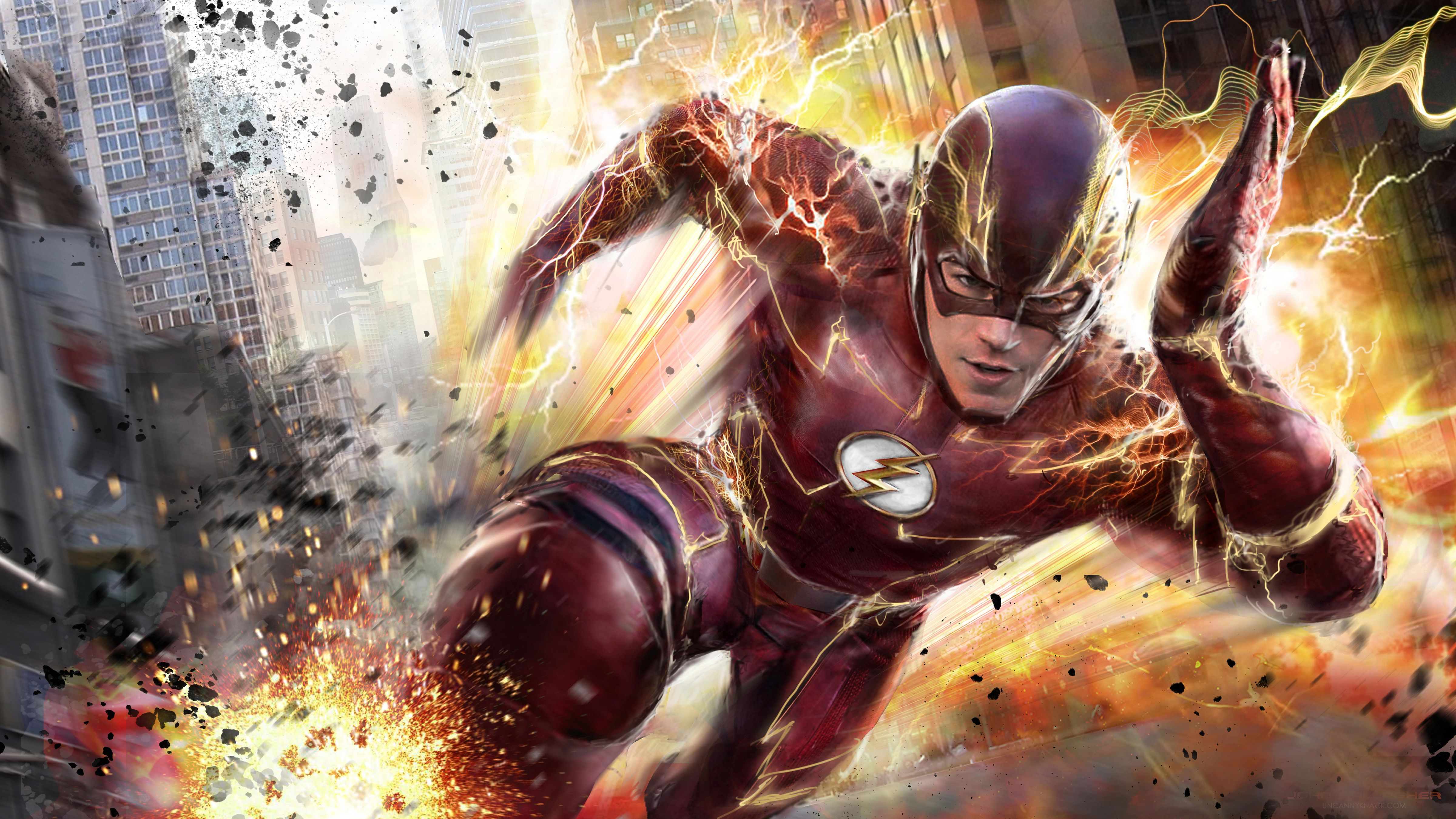 The Flash Wallpapers on WallpaperDog