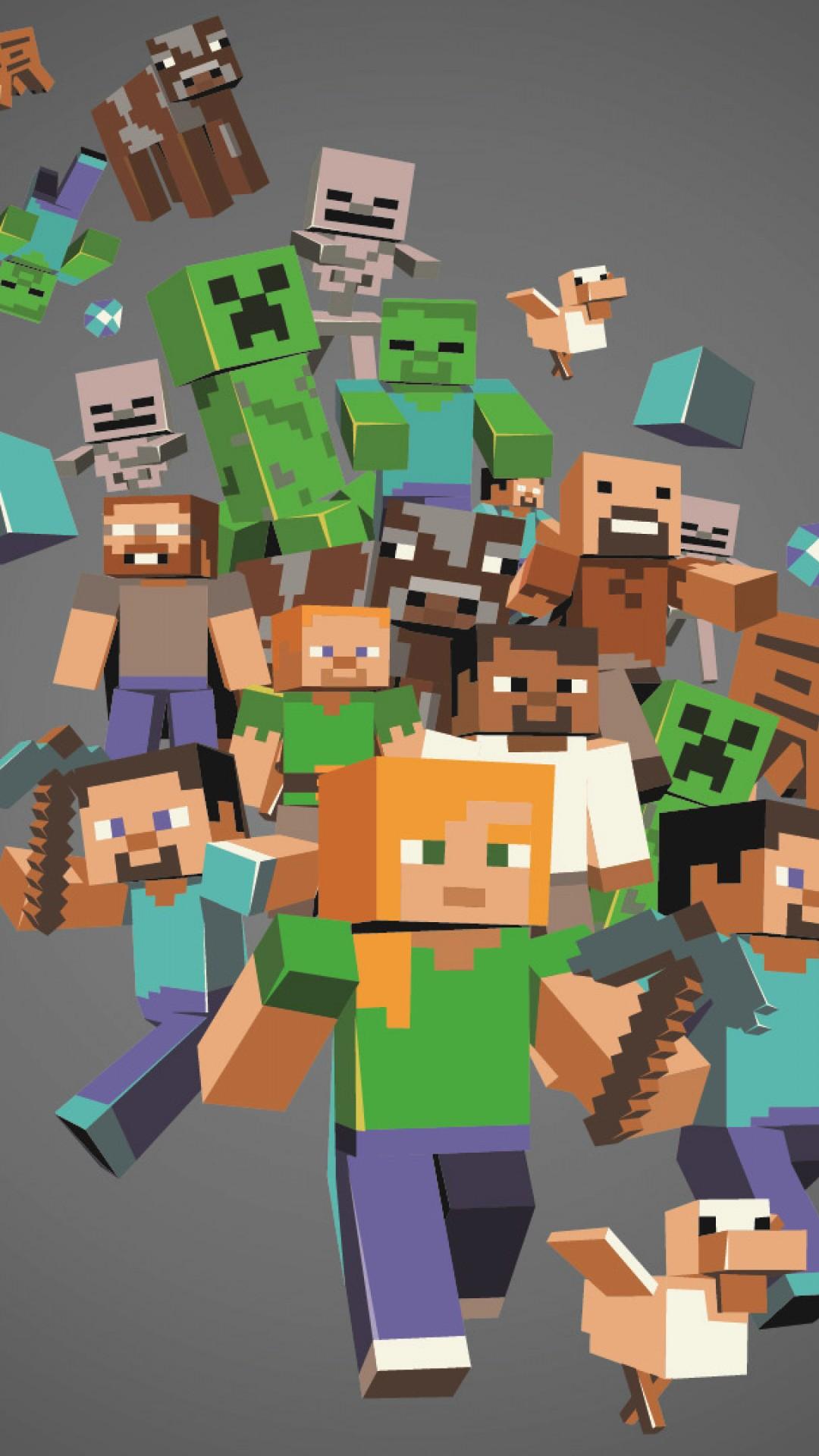 Minecraft Steve Wallpapers On Wallpaperdog