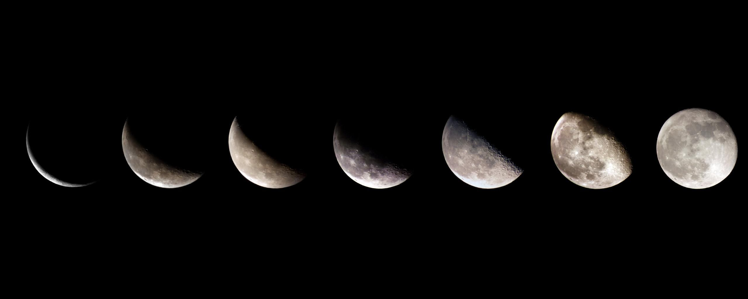 Moon Phases Wallpapers on WallpaperDog