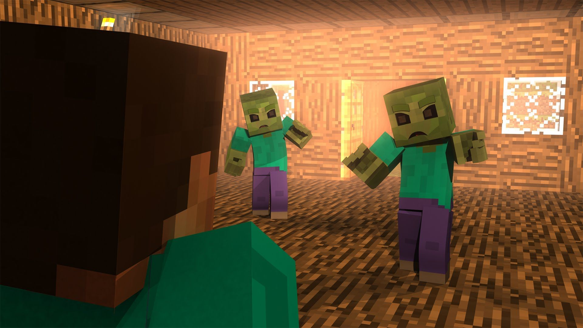 Minecraft Zombie Wallpapers on WallpaperDog