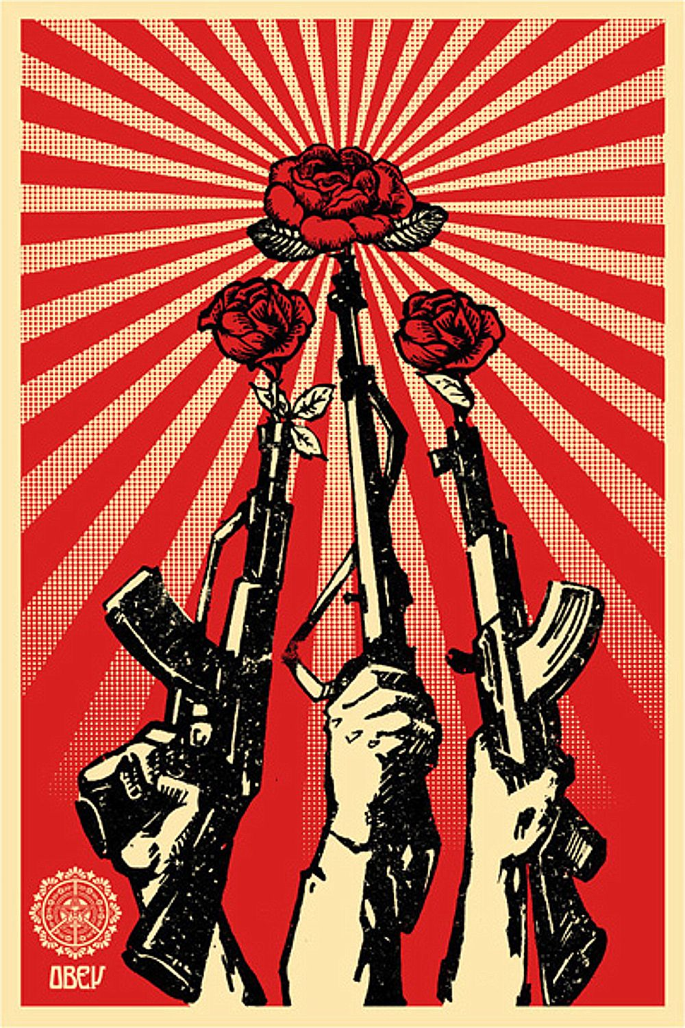 Obey Flower Wallpapers On Wallpaperdog