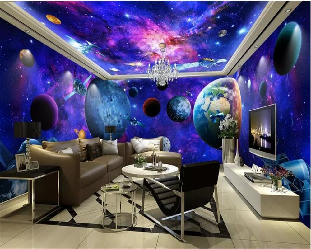 Galaxy Ceiling Wallpapers on WallpaperDog
