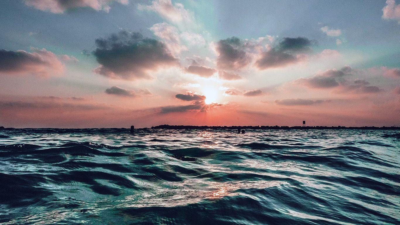 Aesthetic Sunset Desktop Wallpapers On Wallpaperdog