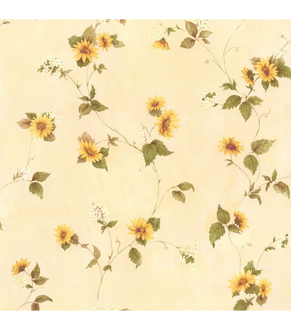 Yellow Floral Wallpapers On Wallpaperdog