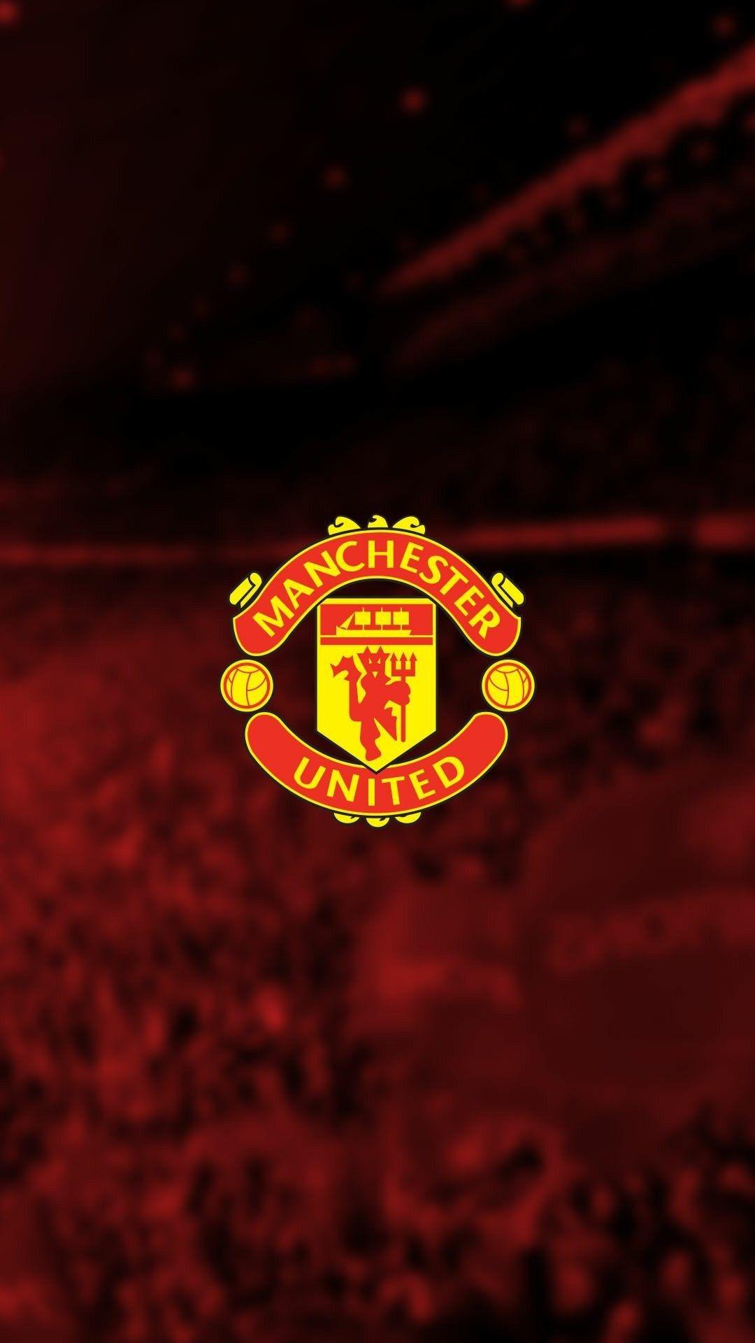 Manchester United Logo Wallpapers On Wallpaperdog