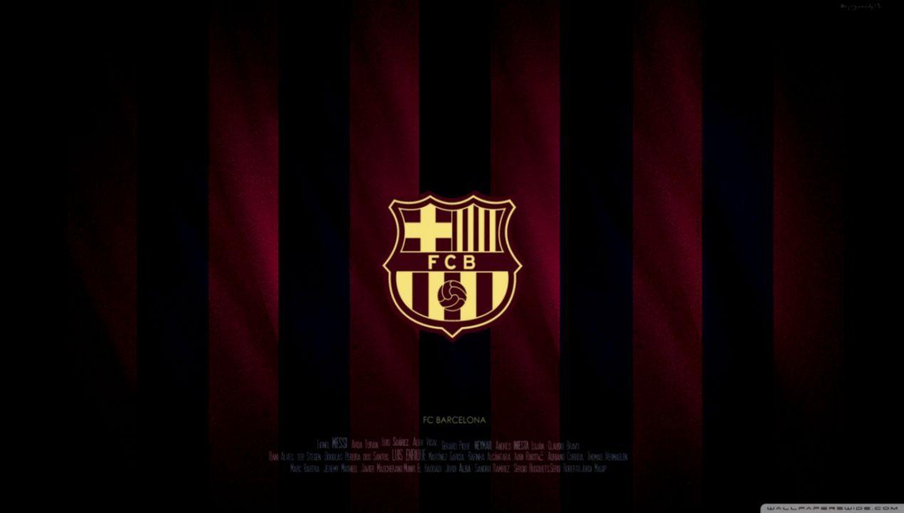 Barcelona Logo Wallpapers On Wallpaperdog