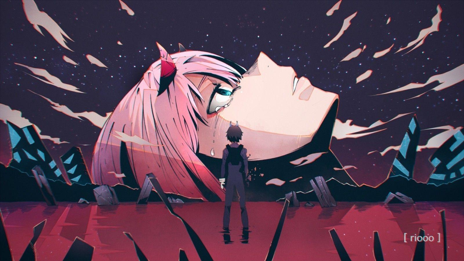Pink Anime Wallpapers On Wallpaperdog