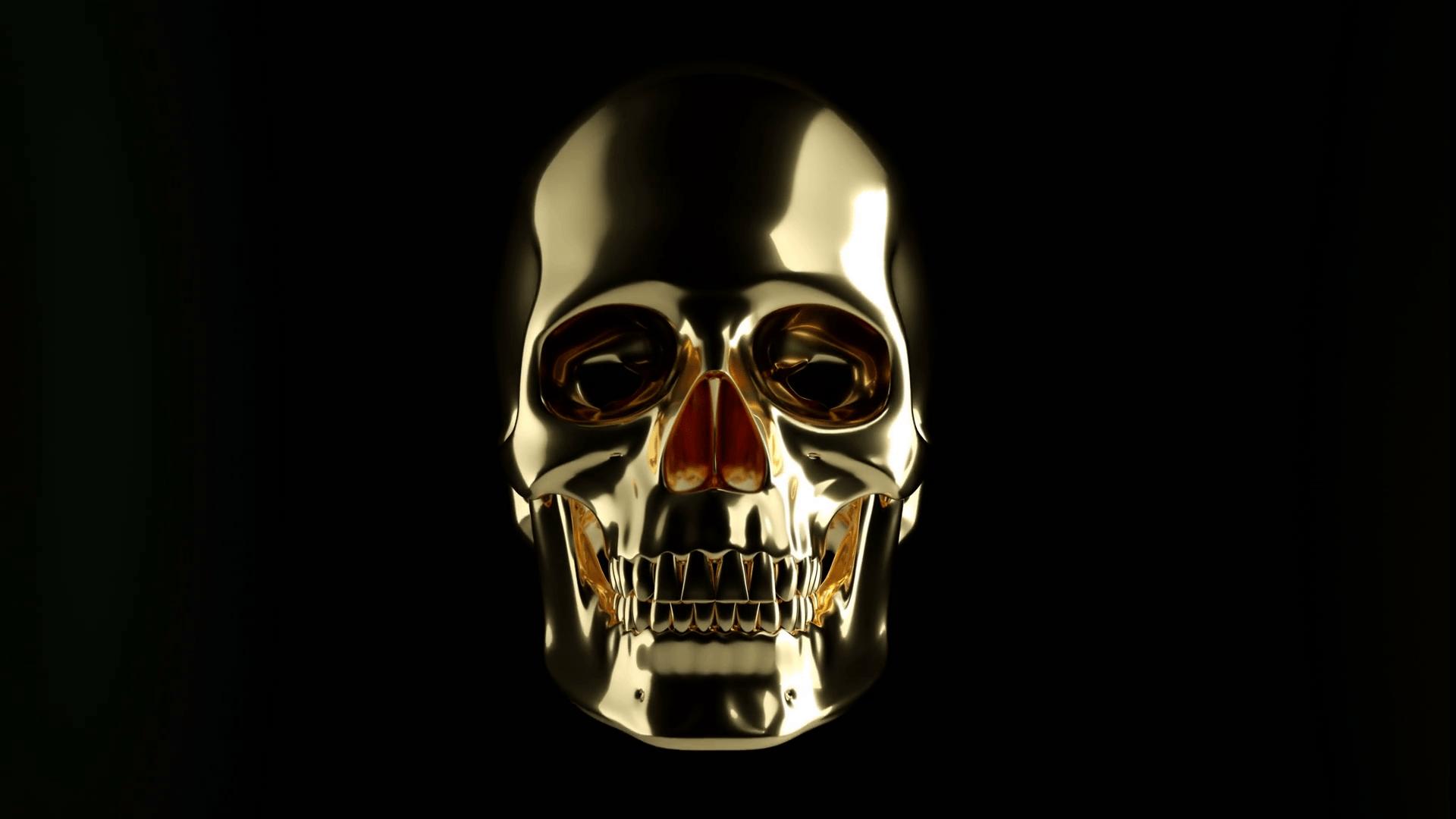 Metallic Skull Wallpapers on WallpaperDog