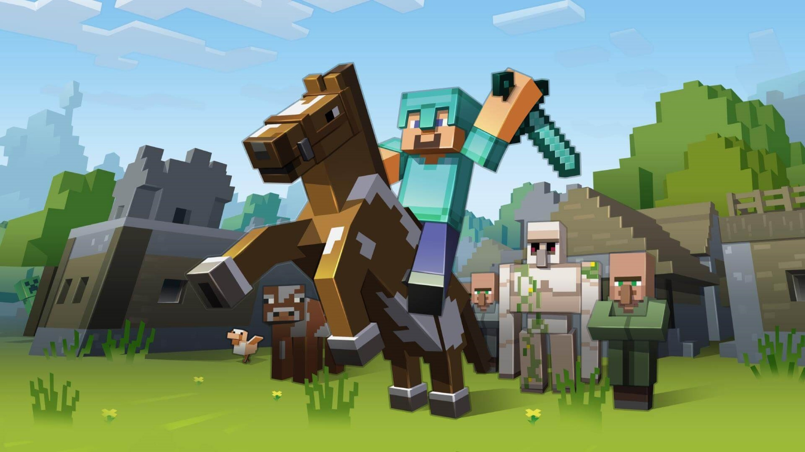 2560x1440 Minecraft Wallpapers On Wallpaperdog