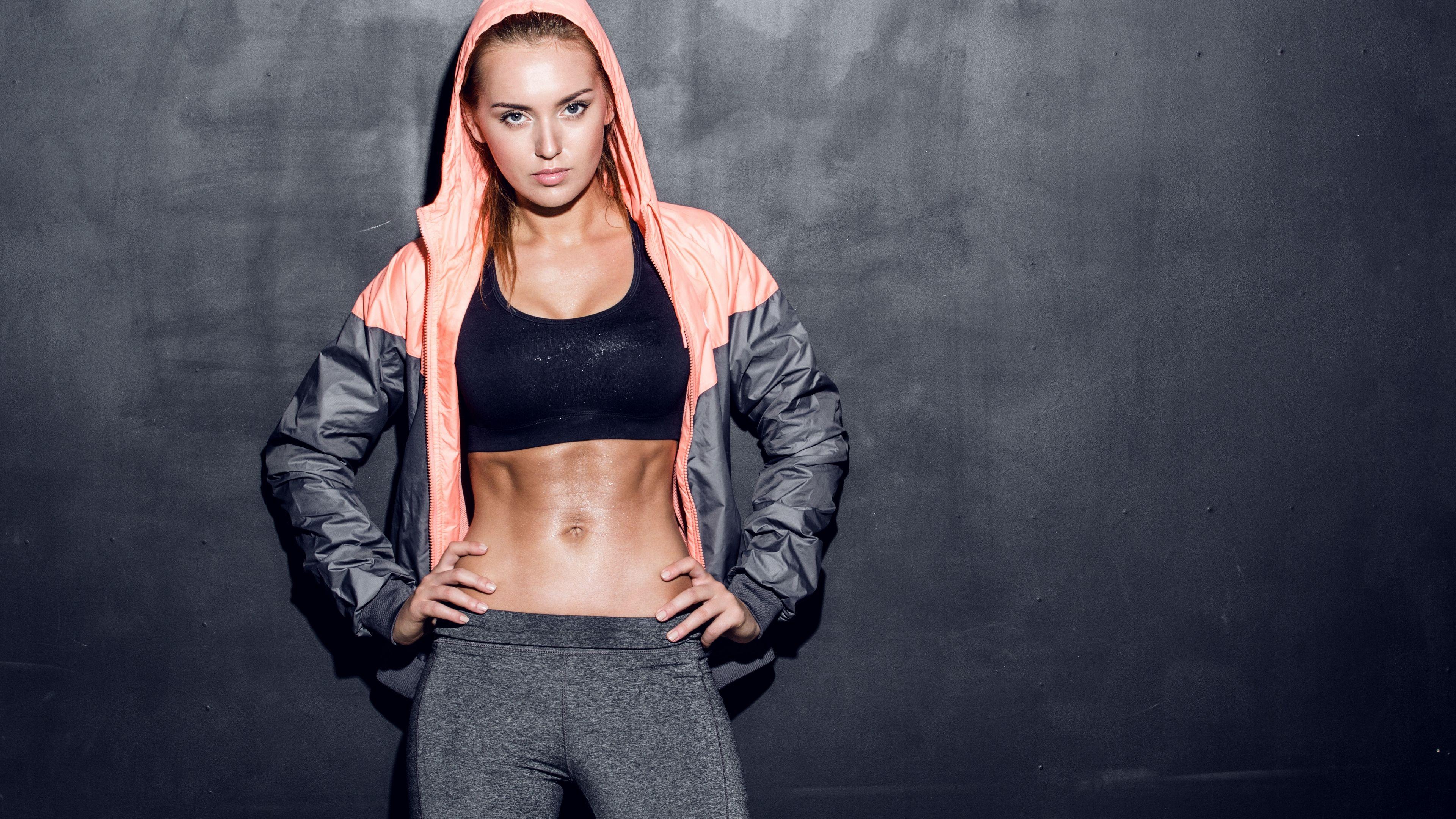Sport Girl Wallpaper
