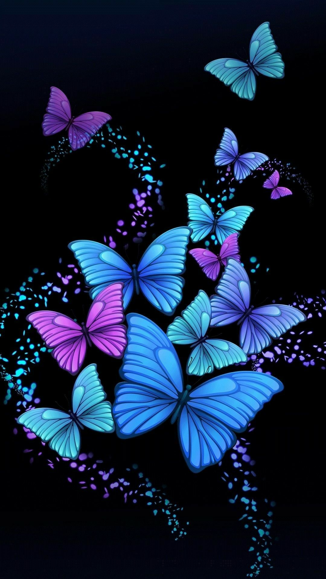 Butterfly Phone Wallpapers on WallpaperDog