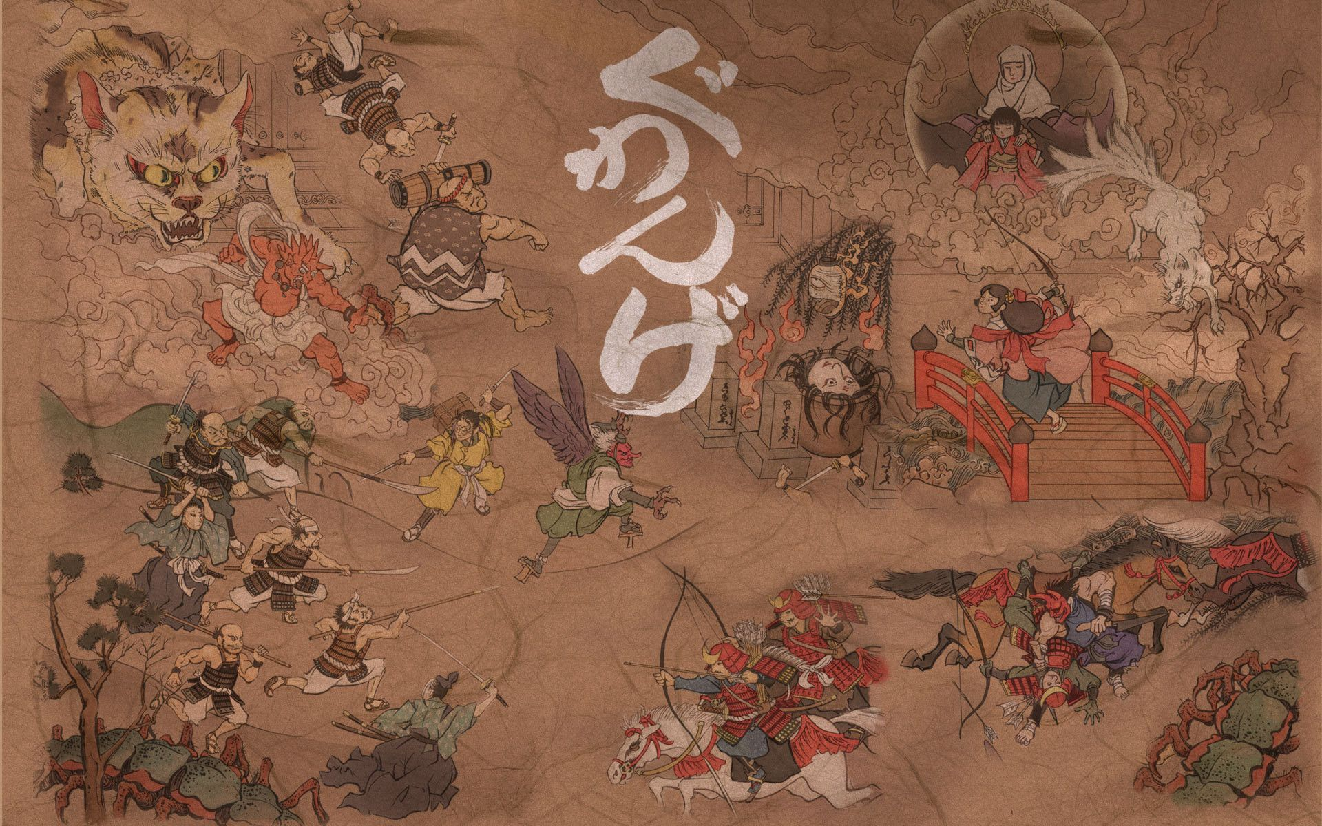 Japanese Art Wallpapers On Wallpaperdog