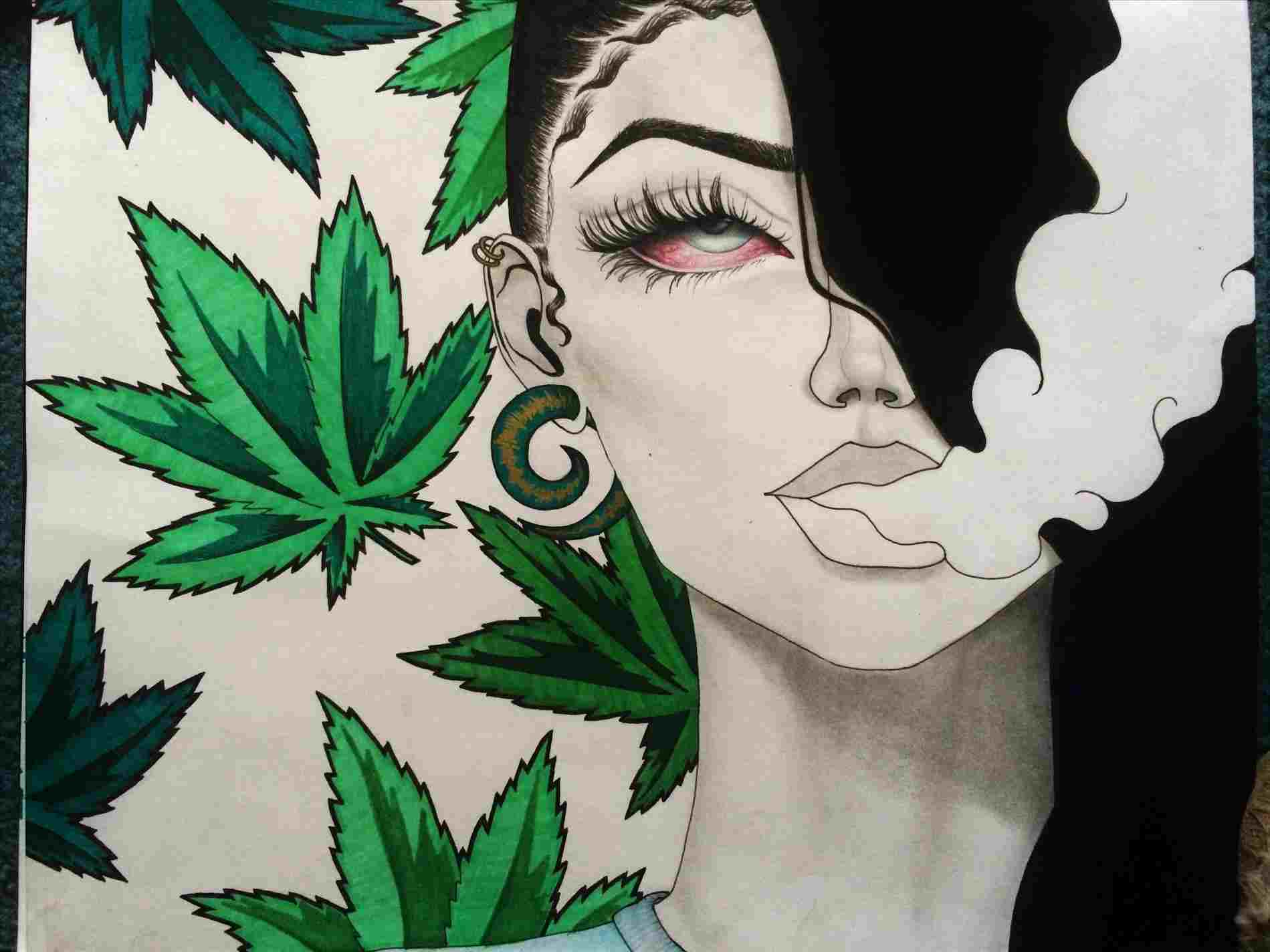 Naked girls and pot Weed Girl Wallpapers On Wallpaperdog
