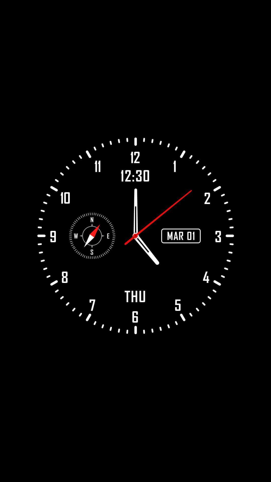 Live Clock Wallpapers On Wallpaperdog
