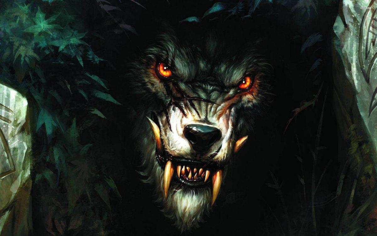 Demon Wolf Wallpapers on WallpaperDog