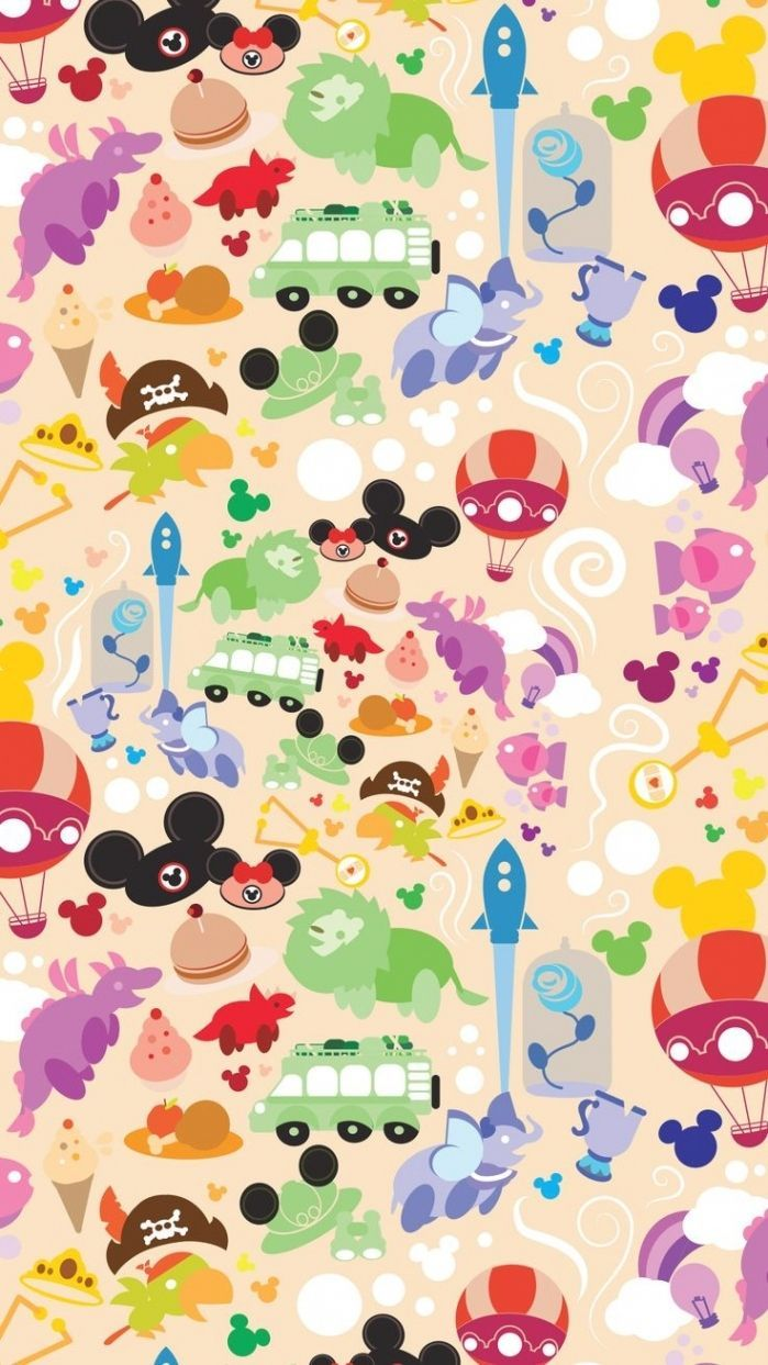 Retro Disney World Wallpapers On Wallpaperdog