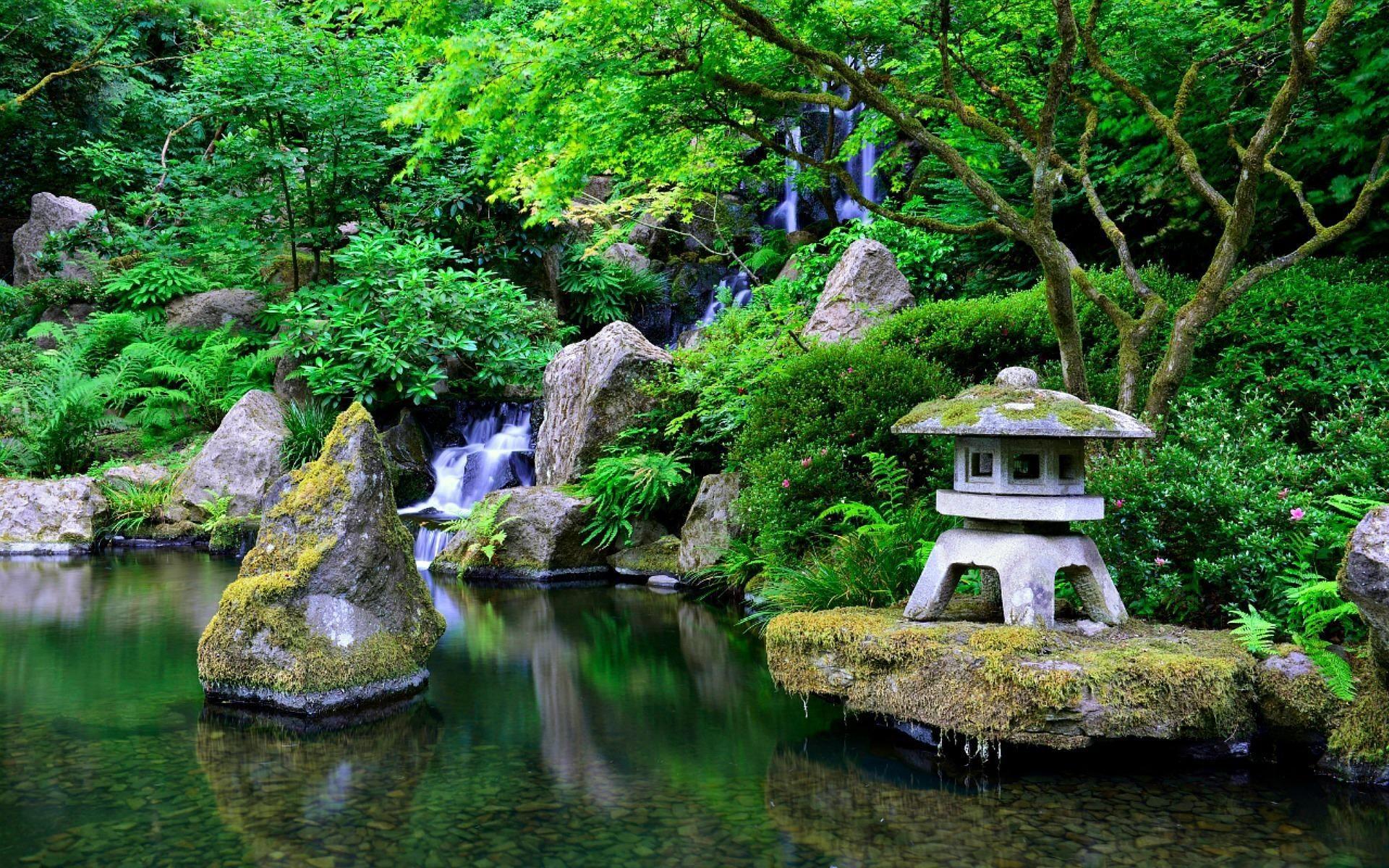 Japanese Garden Wallpapers on WallpaperDog