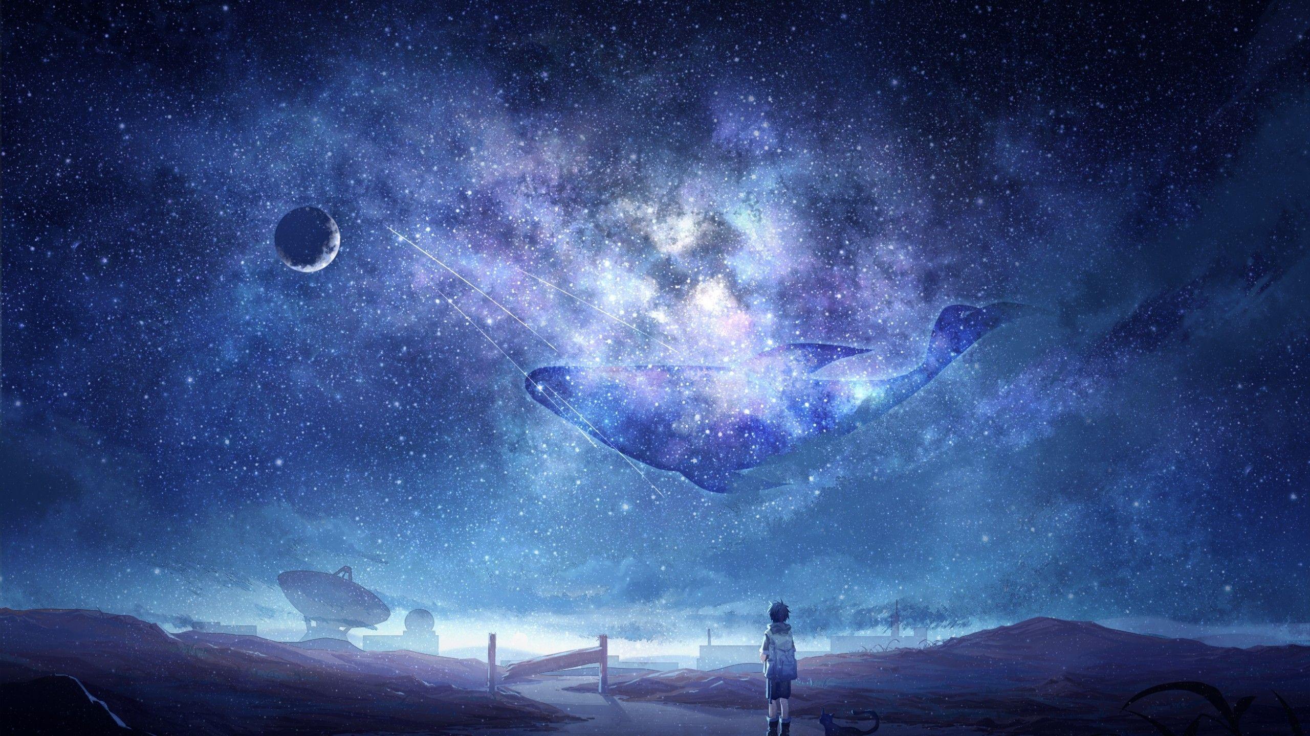 Anime Galaxy Wallpapers On Wallpaperdog