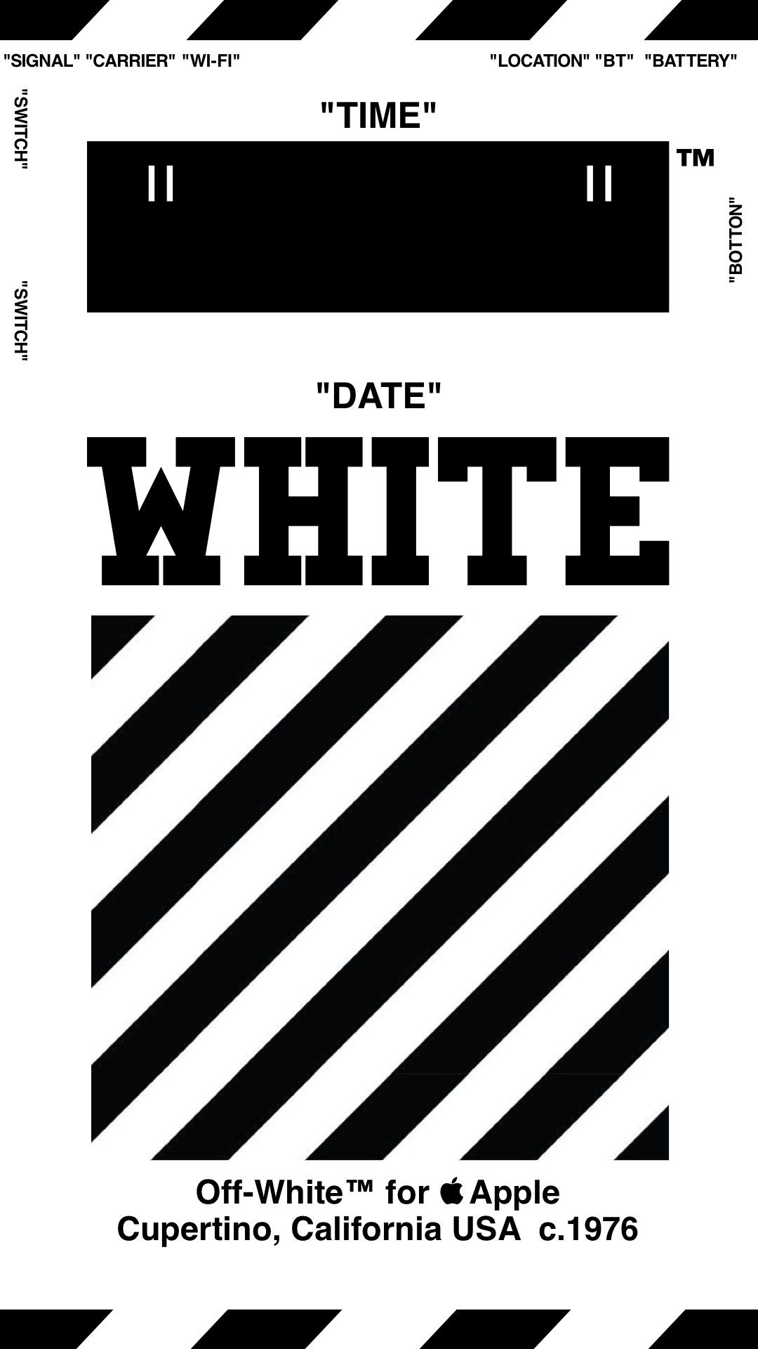 Off White 1 Iphone Wallpapers On Wallpaperdog