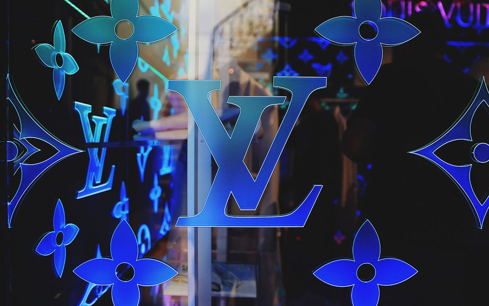 Neon Louis Vuitton Wallpapers On Wallpaperdog