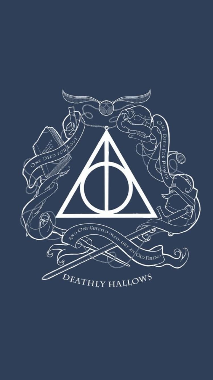 Magic Harry Potter Symbol Wallpapers On Wallpaperdog