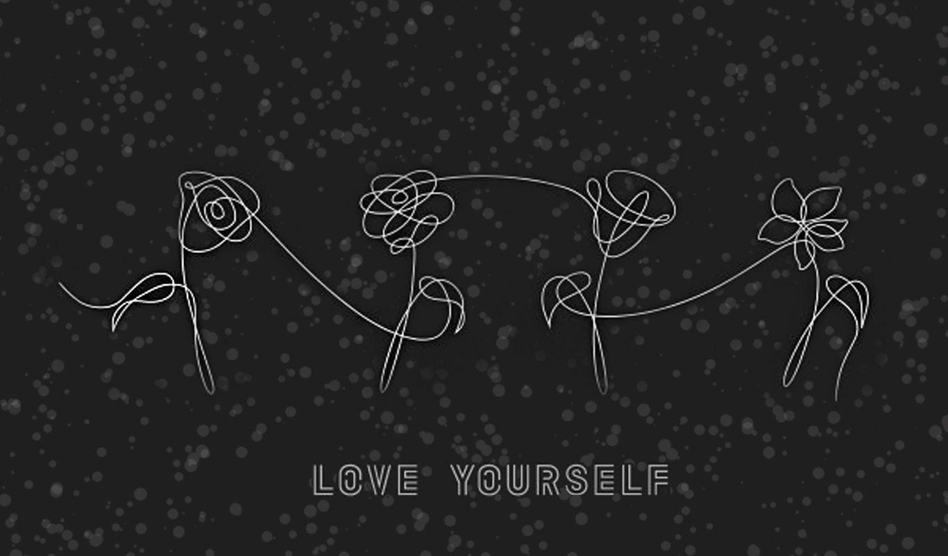 Love Yourself BTS Desktop Wallpapers on WallpaperDog