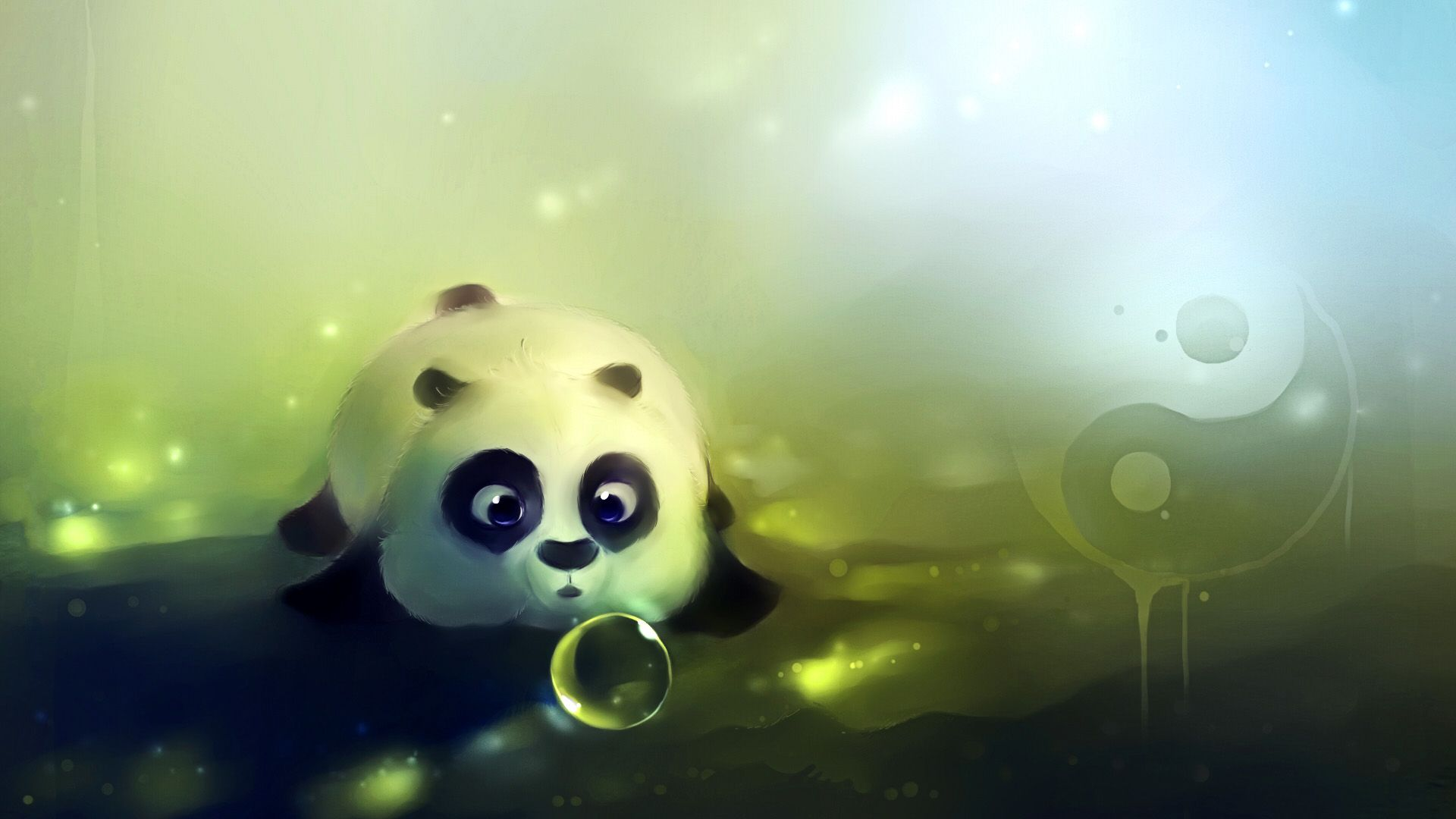 Cute Anime Panda Wallpapers On Wallpaperdog