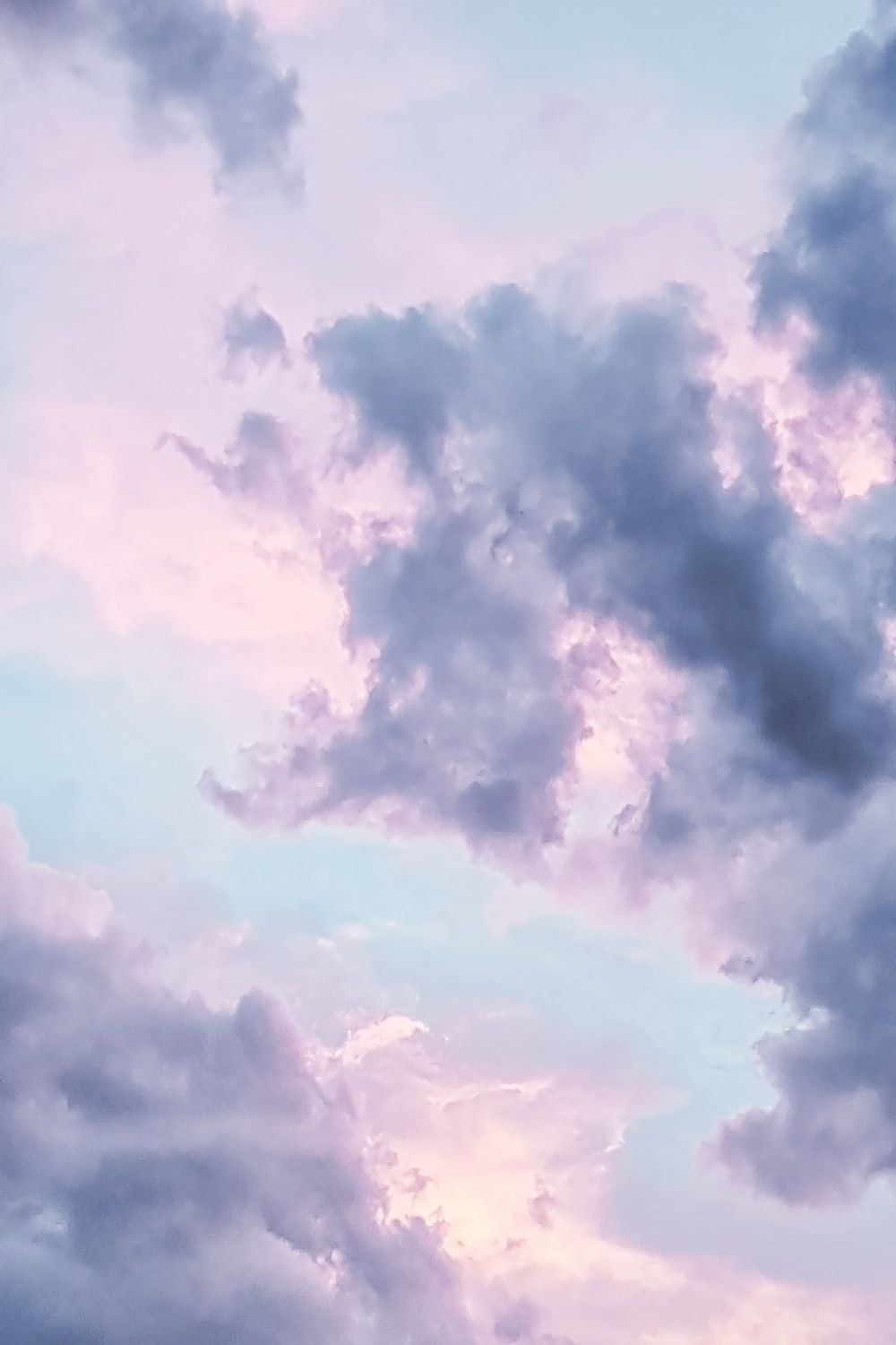 Blue Aesthetic Cloud Wallpapers On Wallpaperdog