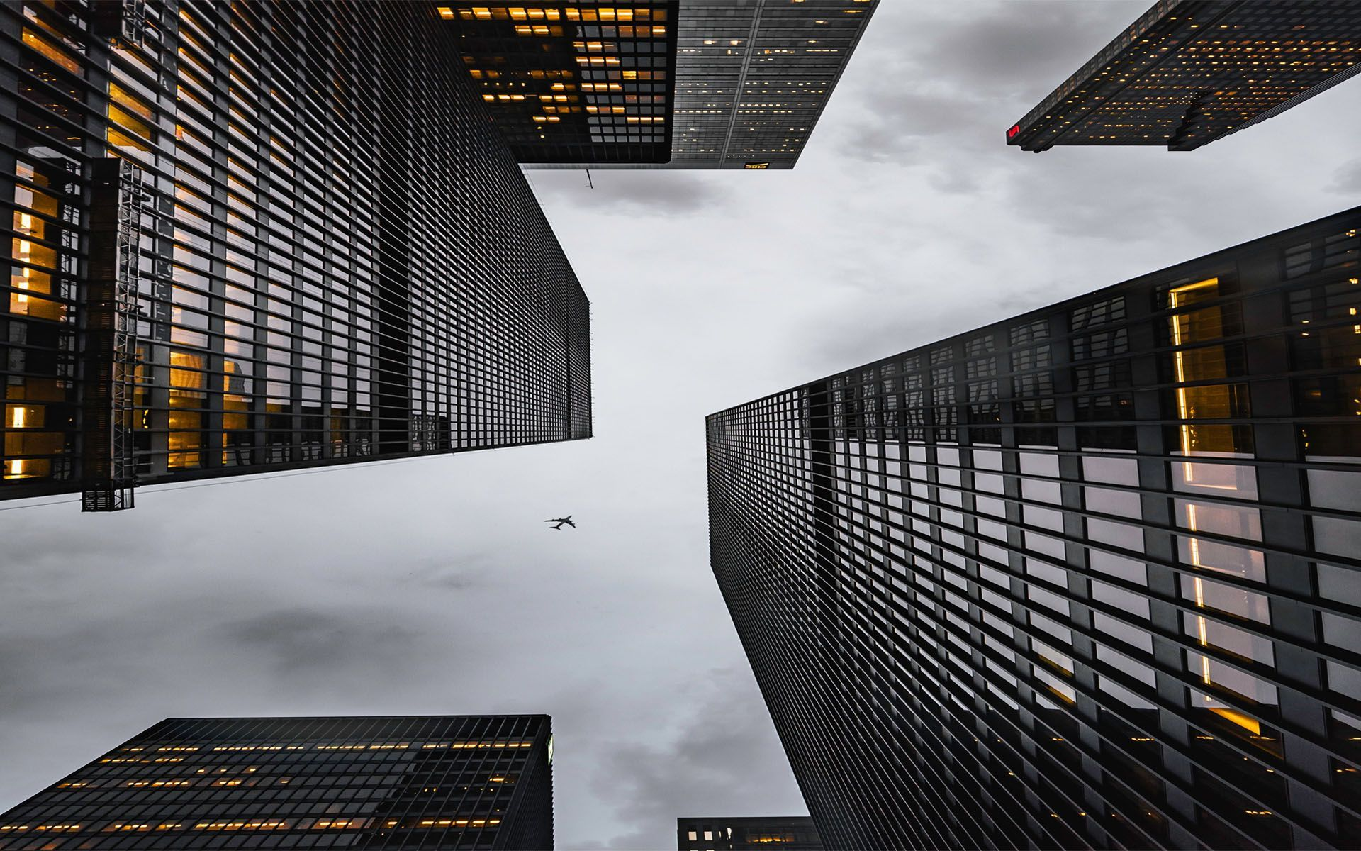 Looking Up City Wallpapers On Wallpaperdog