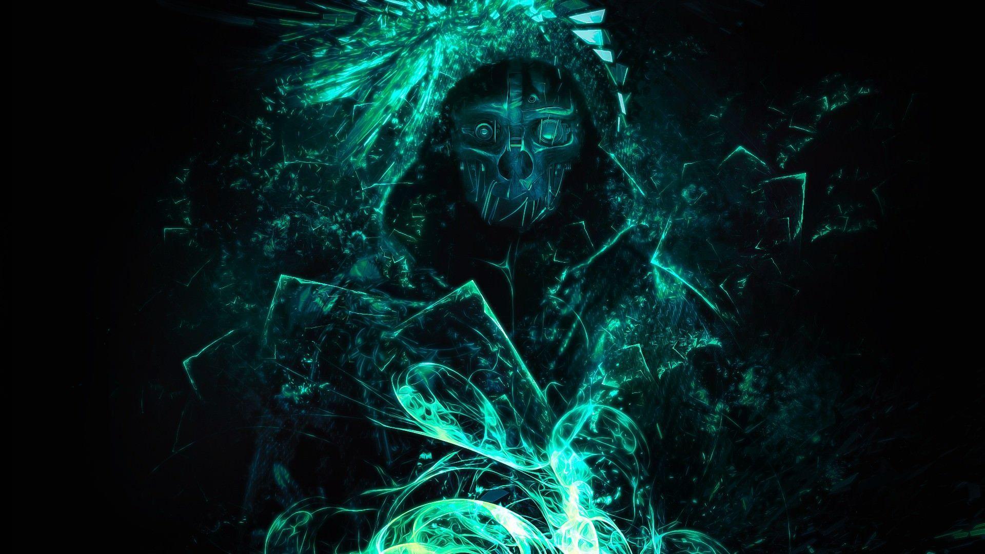 Green Gaming Wallpaper Hd