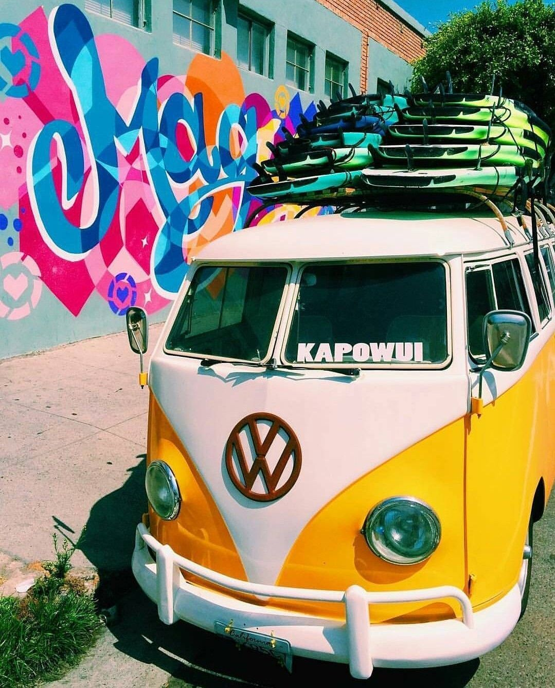 Beach Vw Van Wallpapers On Wallpaperdog