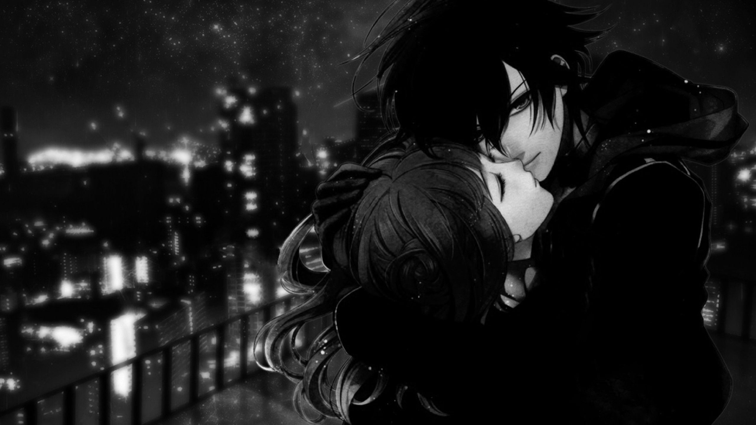 Cute Dark Anime Couple Wallpapers On Wallpaperdog Free download new latest hd romantic couple love black and white free wallpaper wallpaper under love heart category for high quality and high definition wide screen computer, pc and laptop desktop background photos, images and pictures. cute dark anime couple wallpapers on
