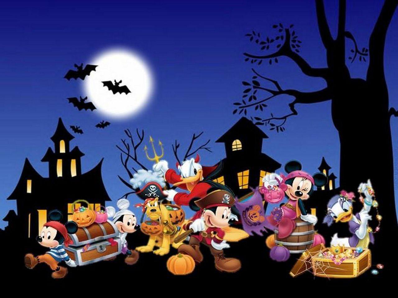 Disney Halloween Desktop Wallpapers On Wallpaperdog