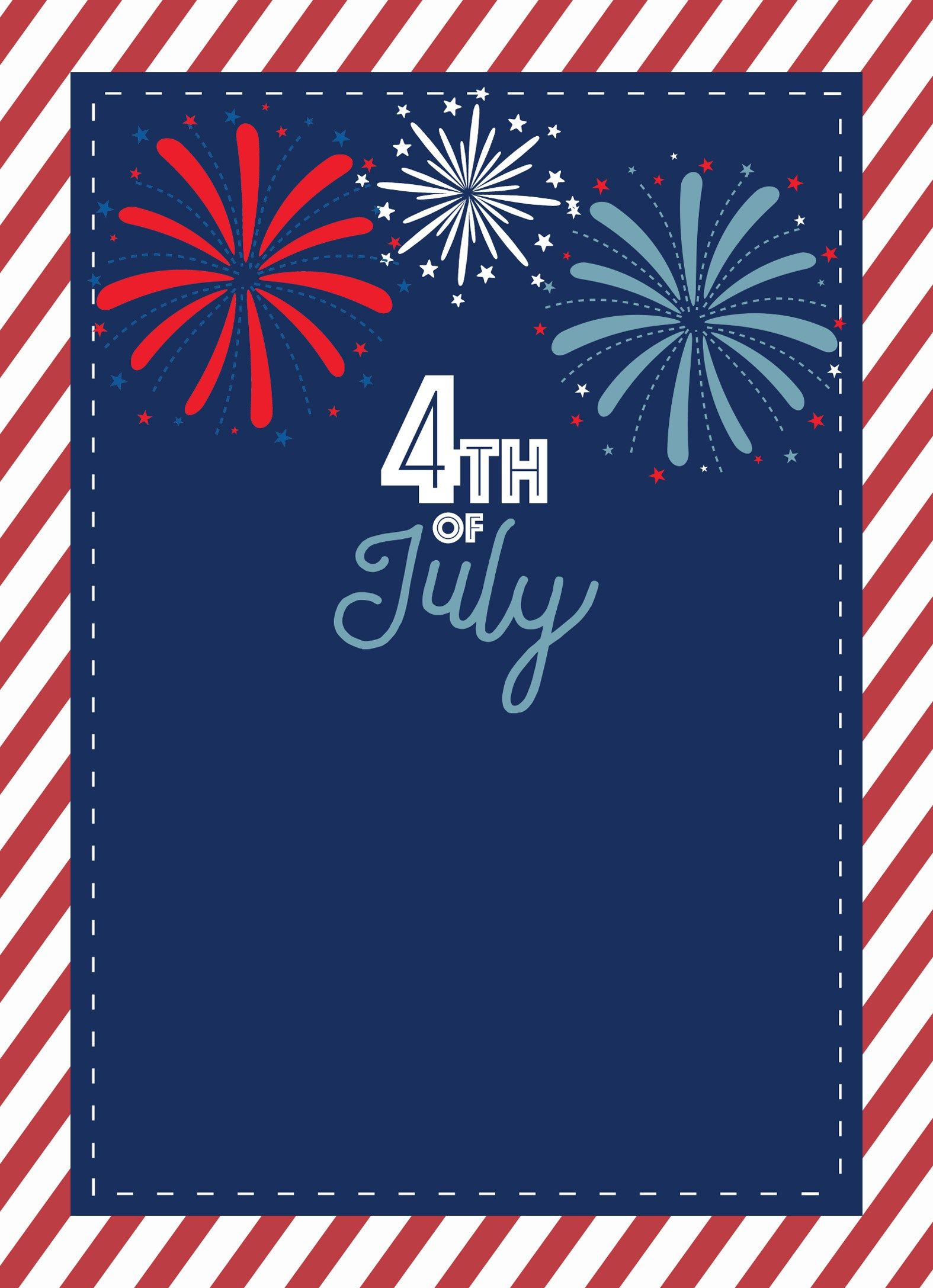Fourth Of July Invite Wallpapers On Wallpaperdog