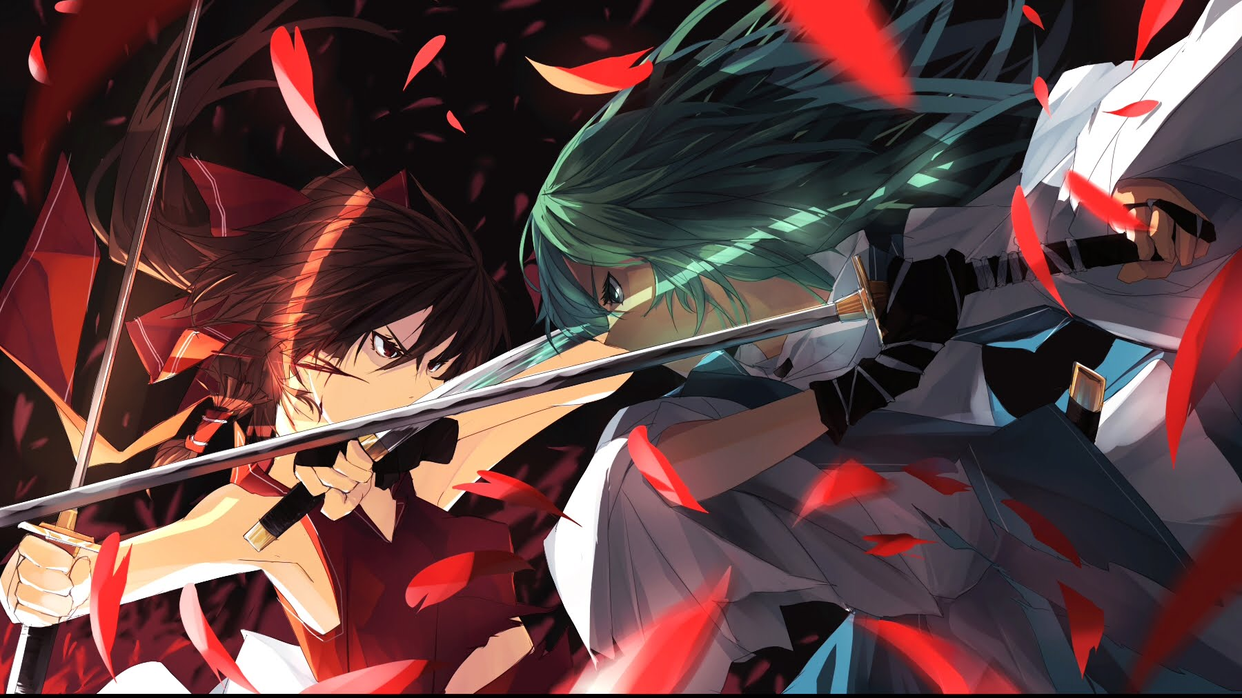 Epic Anime Battle Wallpapers On Wallpaperdog