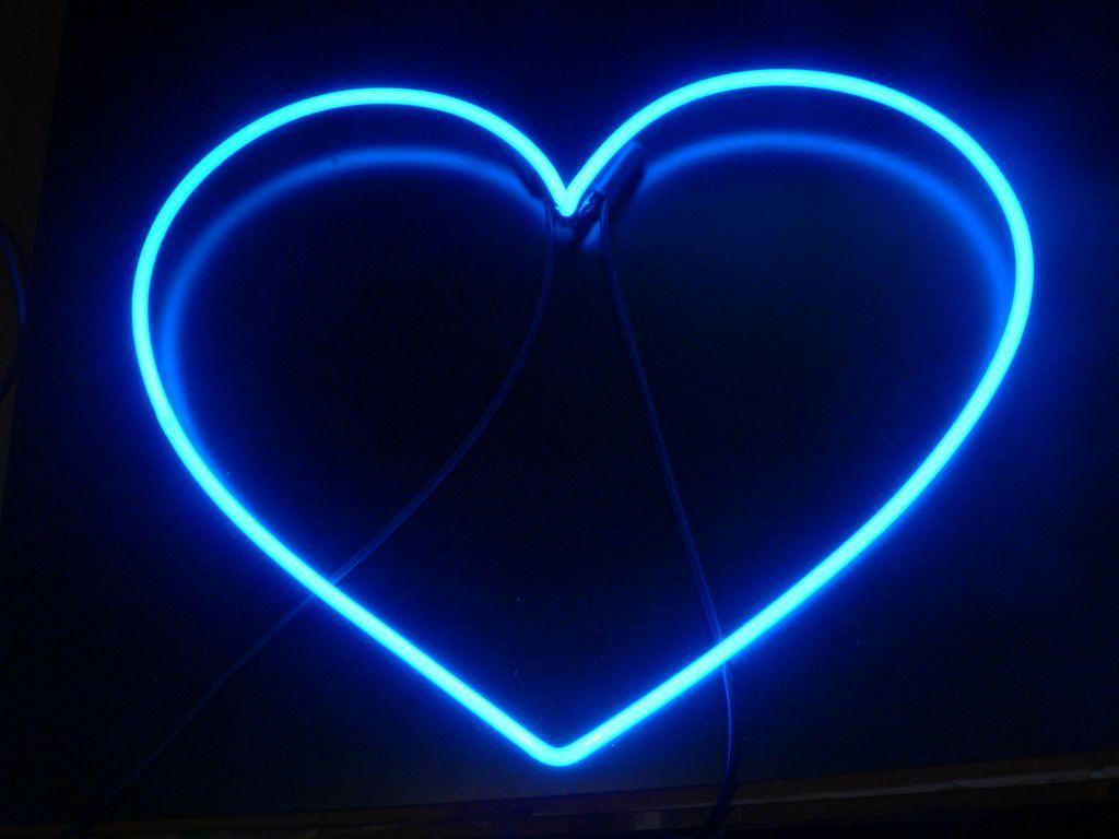 Blue Aesthetic Neon Wallpapers On Wallpaperdog