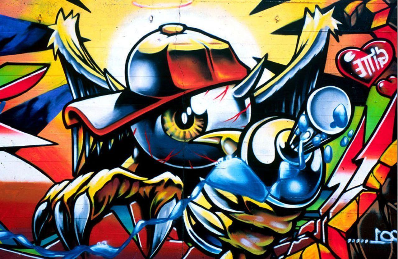 Cartoon Graffiti Art Wallpapers on ...