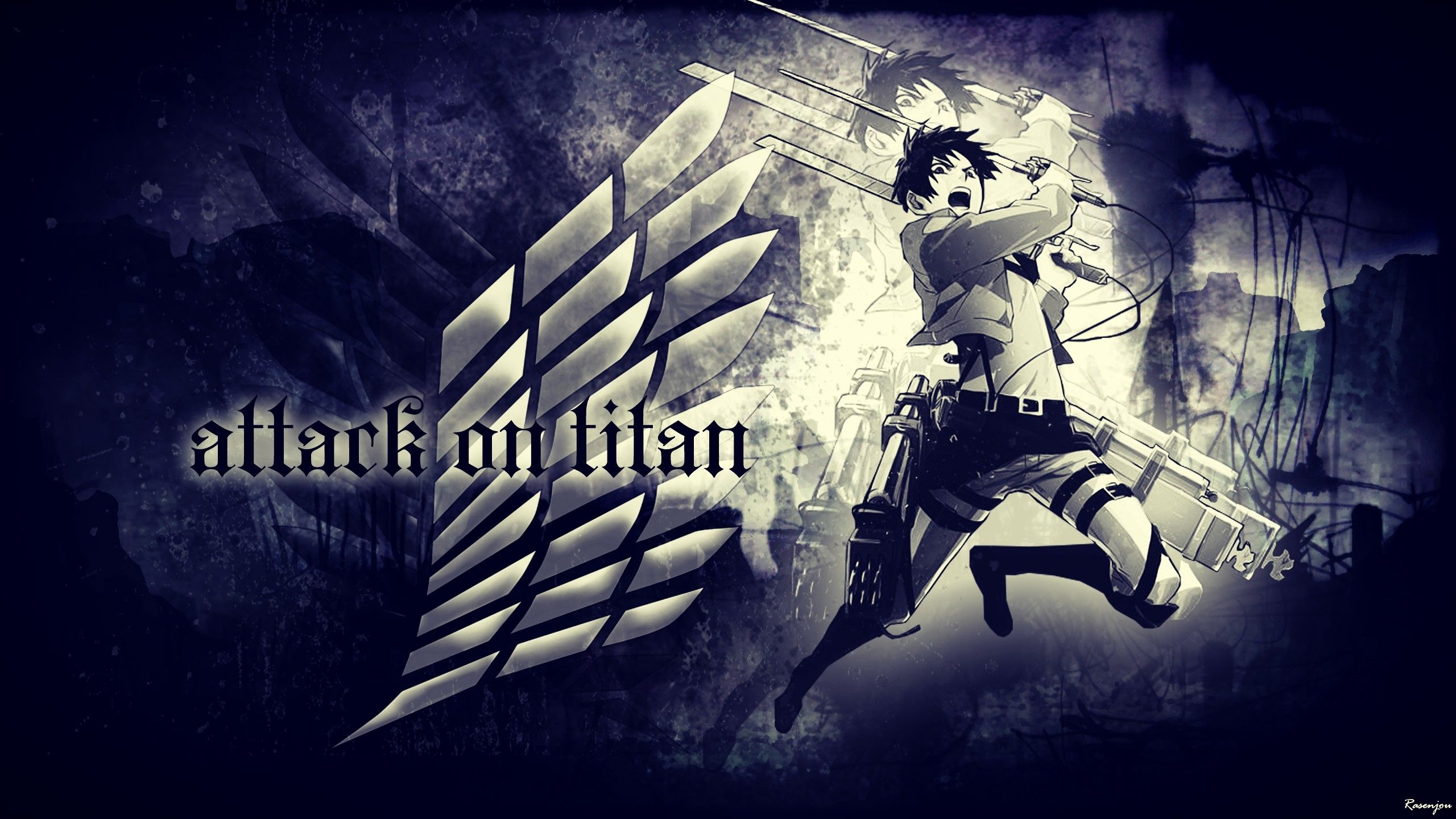 Wings Of Freedom Attack On Titan Wallpapers On Wallpaperdog