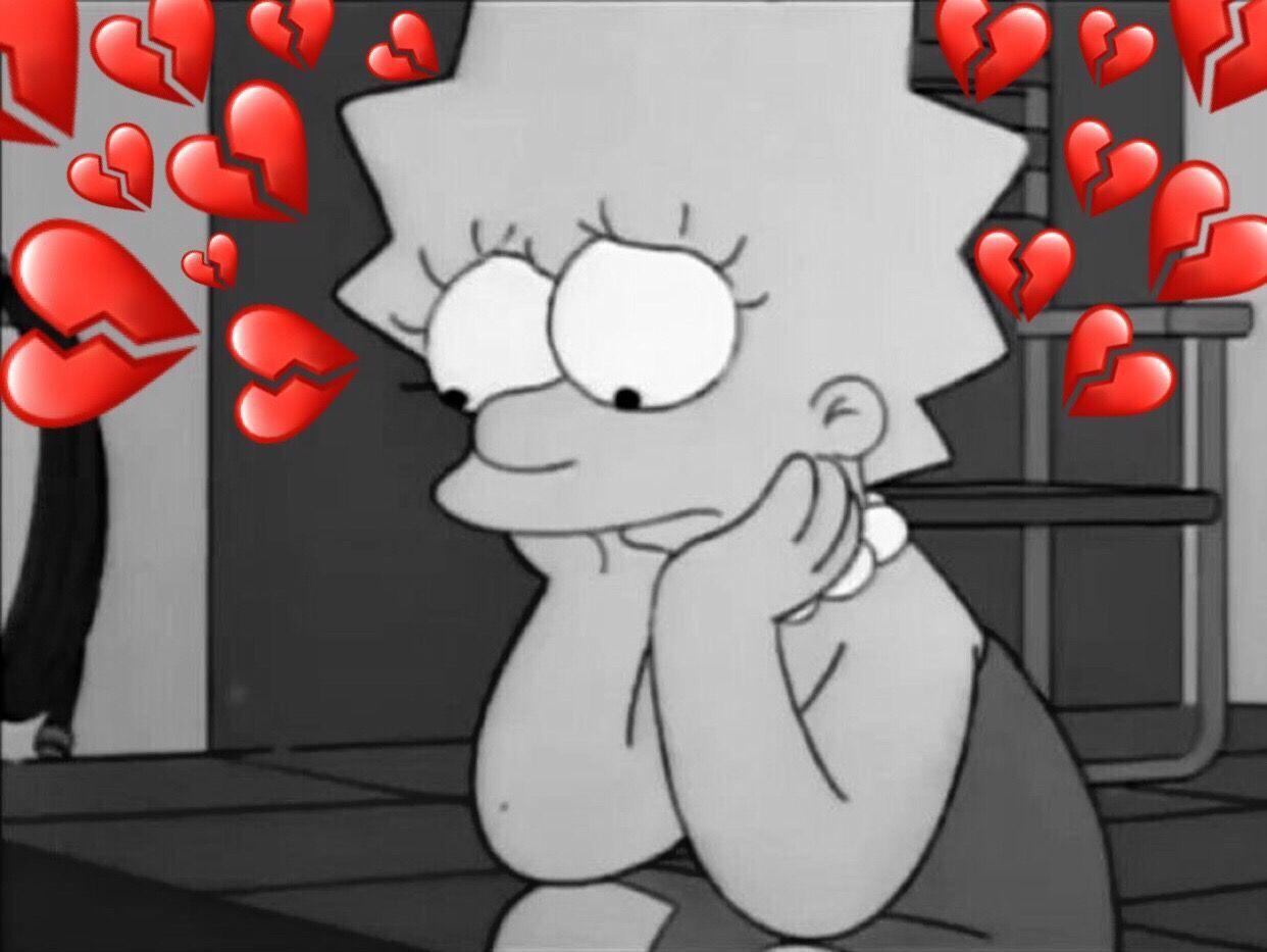 Lisa Simpsons Sad Wallpapers On Wallpaperdog
