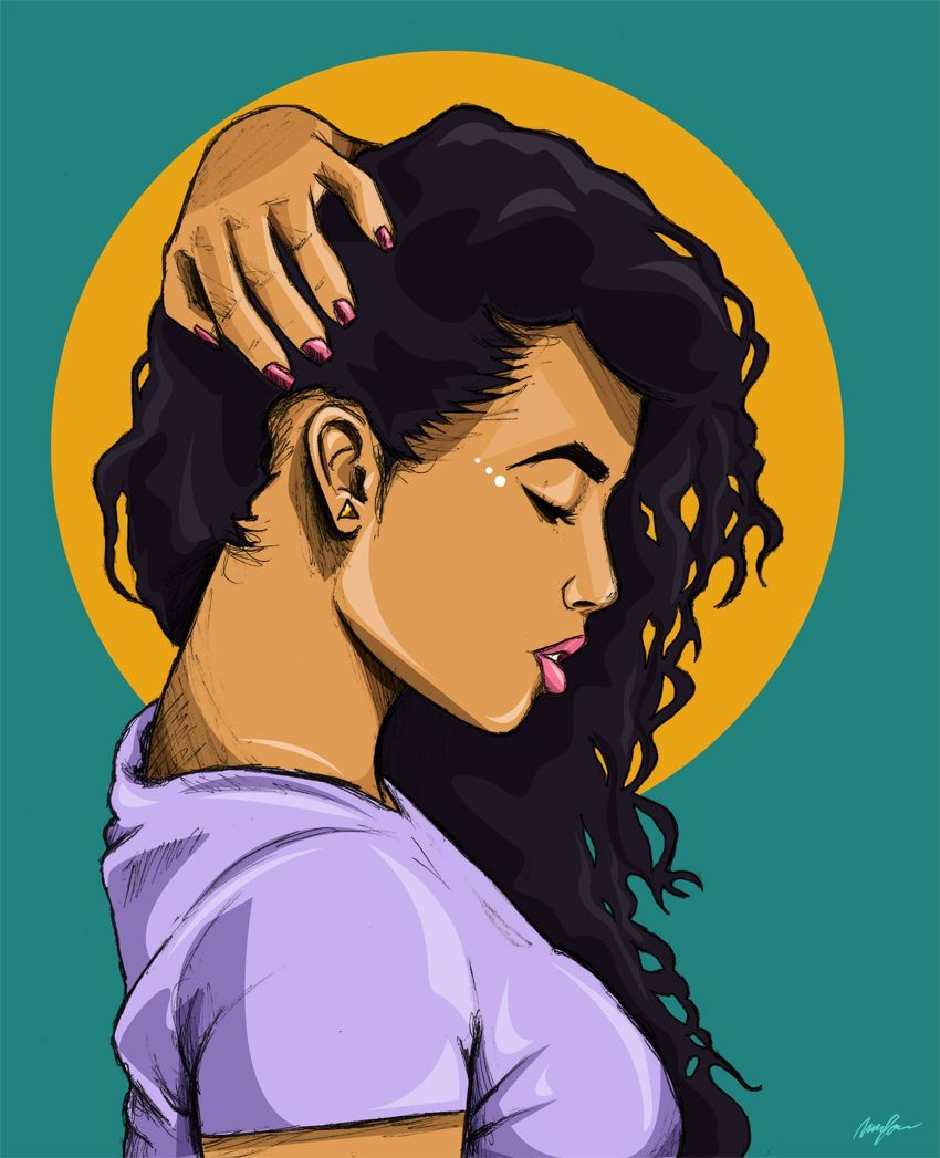 Dope Girl Cartoon Wallpapers On Wallpaperdog