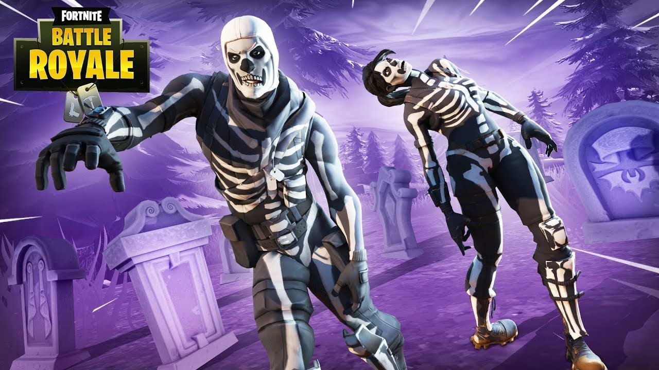 Skull Trooper Fortnite Skin Wallpapers On Wallpaperdog