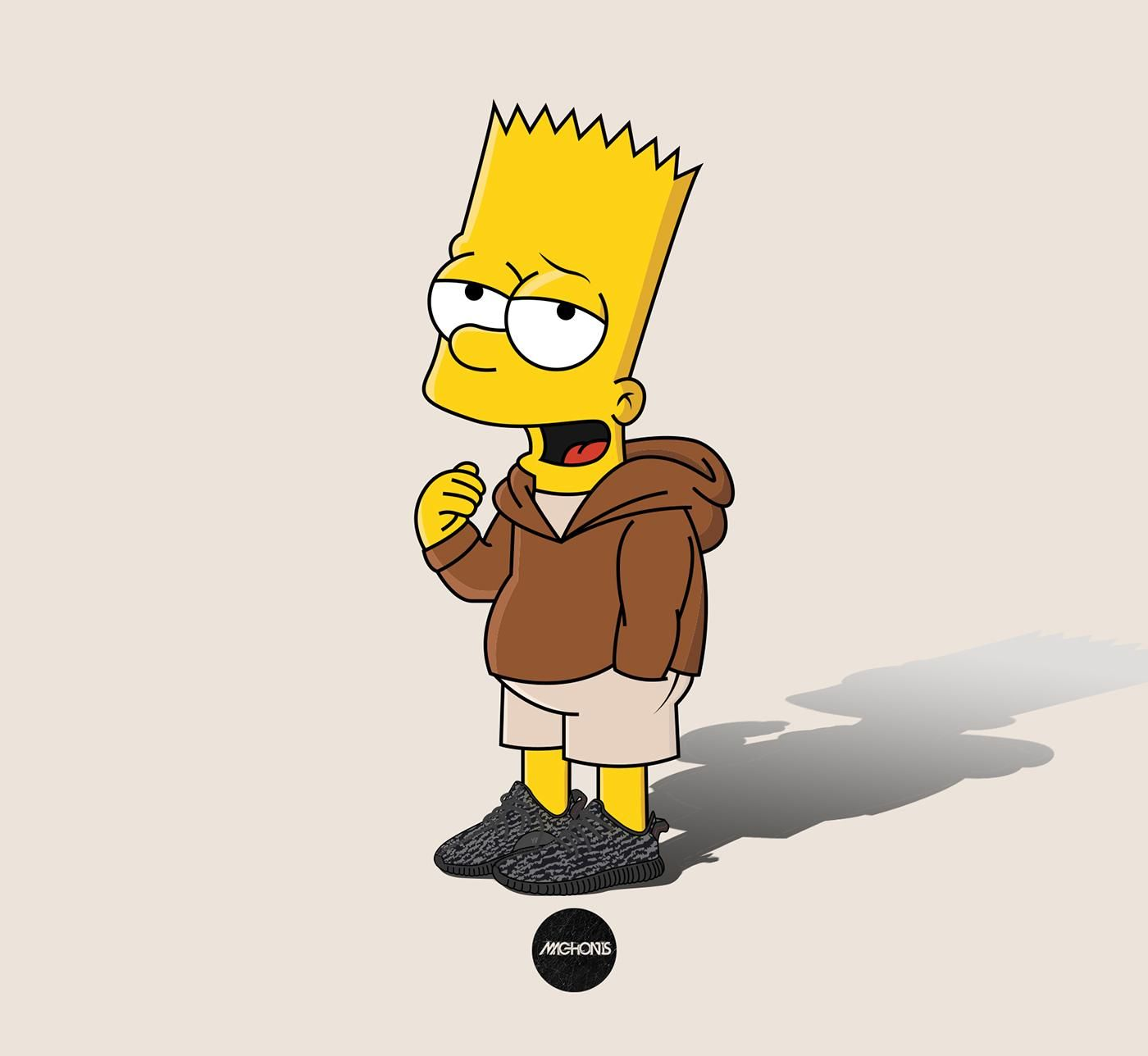 Trippy Bart Simpson Sad Wallpapers On WallpaperDog