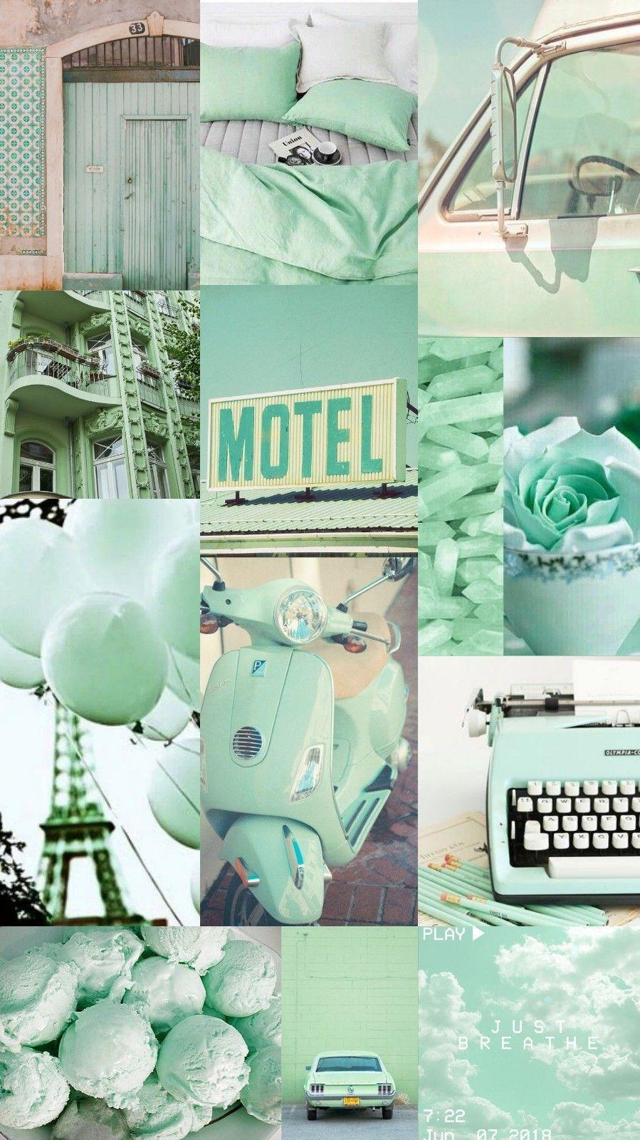Pastel Green Aesthetic Wallpapers On Wallpaperdog