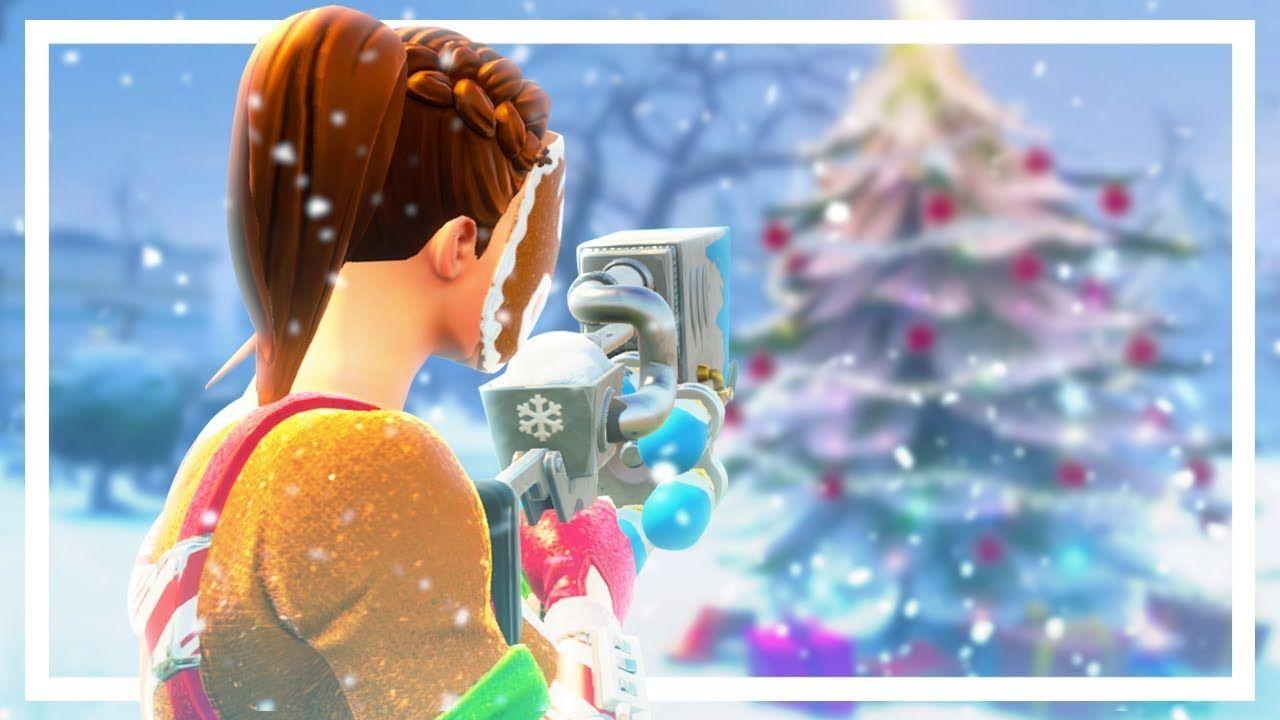 Fortnite Christmas Event Desktop Wallpapers On Wallpaperdog