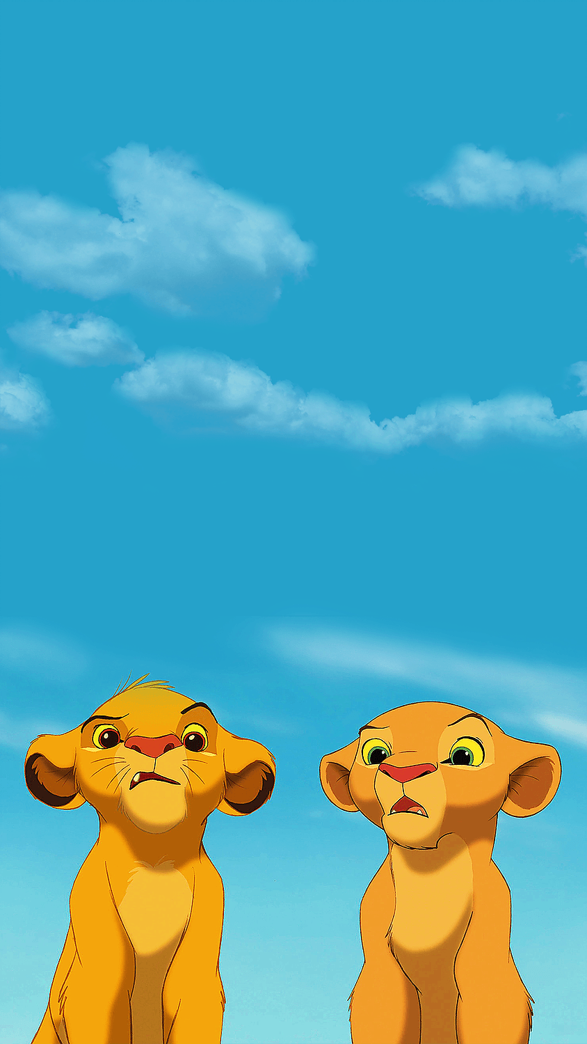 Cute Lion King Wallpapers On Wallpaperdog