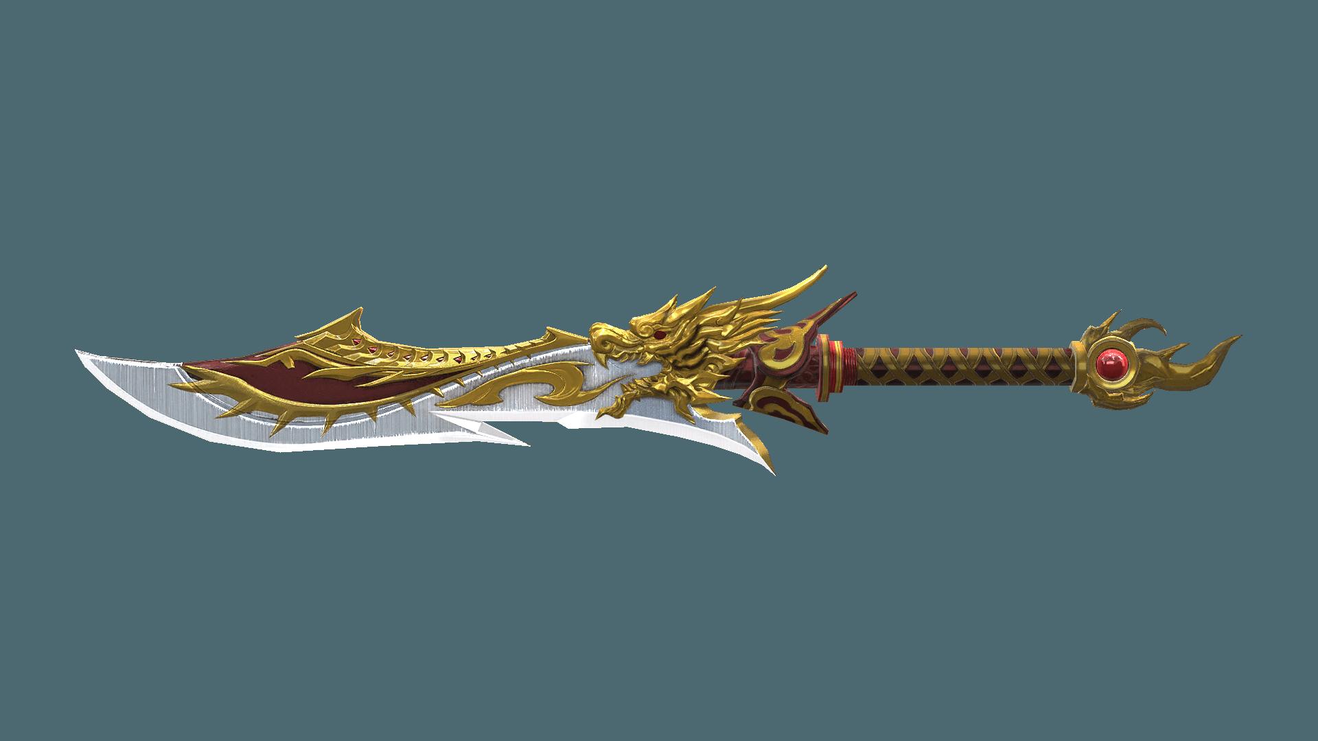 Gold fiery dragon sword baseball players taking steroids